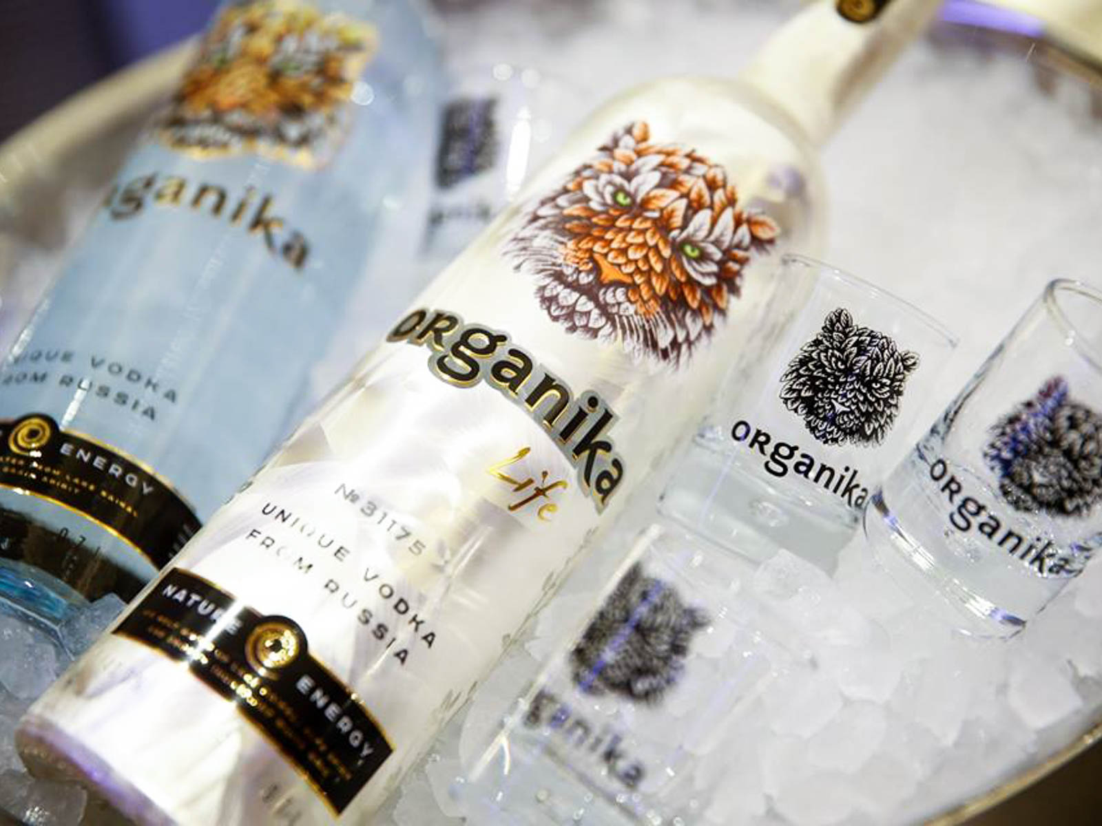 Sustainable Wines and Spirits Organika Vodka