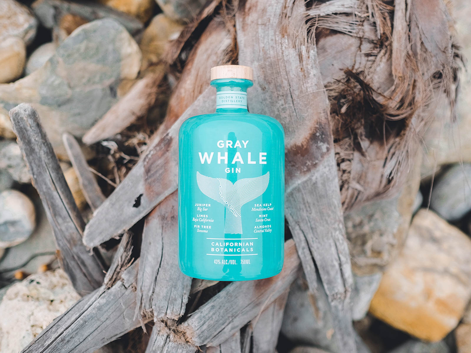 Sustainable Wines and Spirits Gray Whale Gin