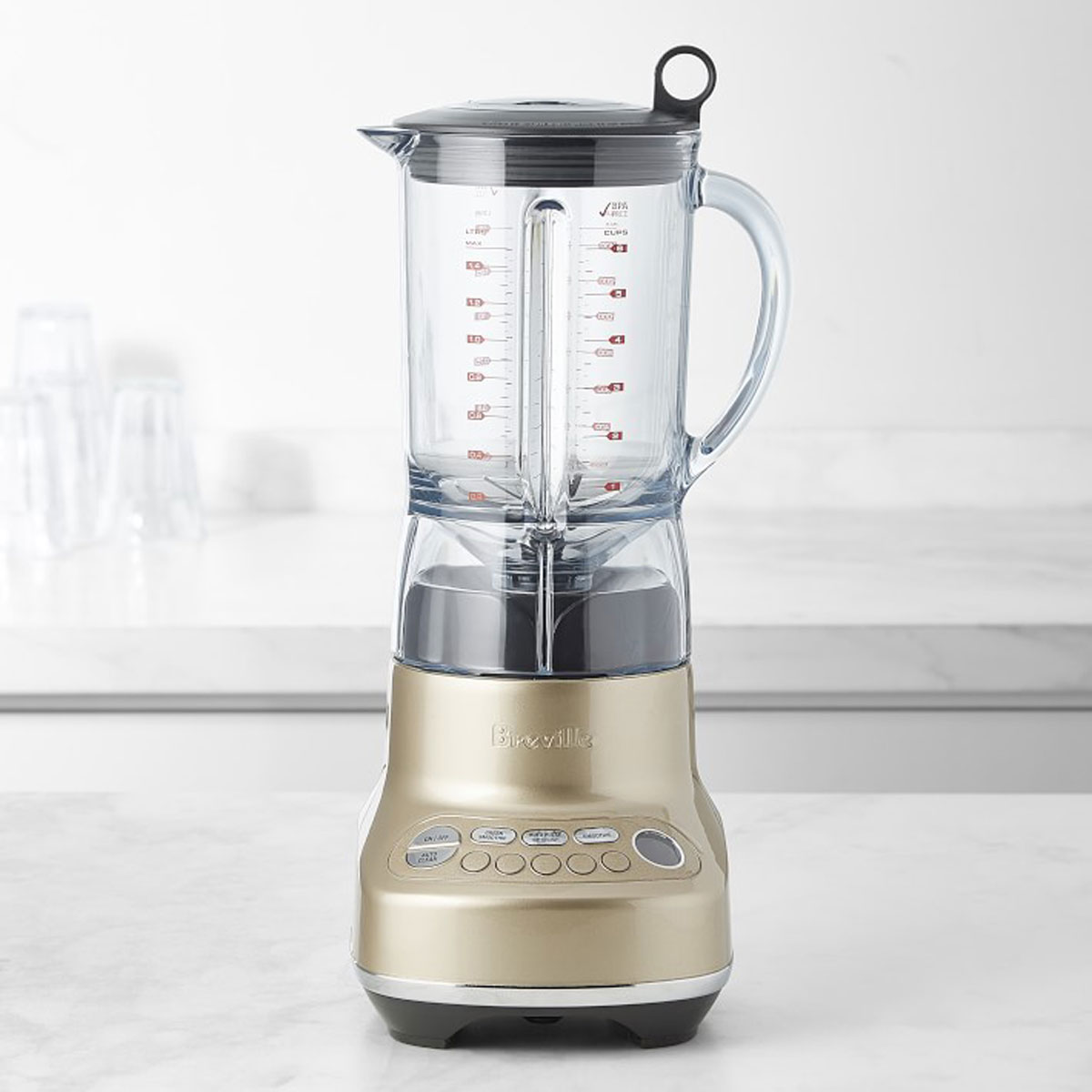 breville blender in champagne
