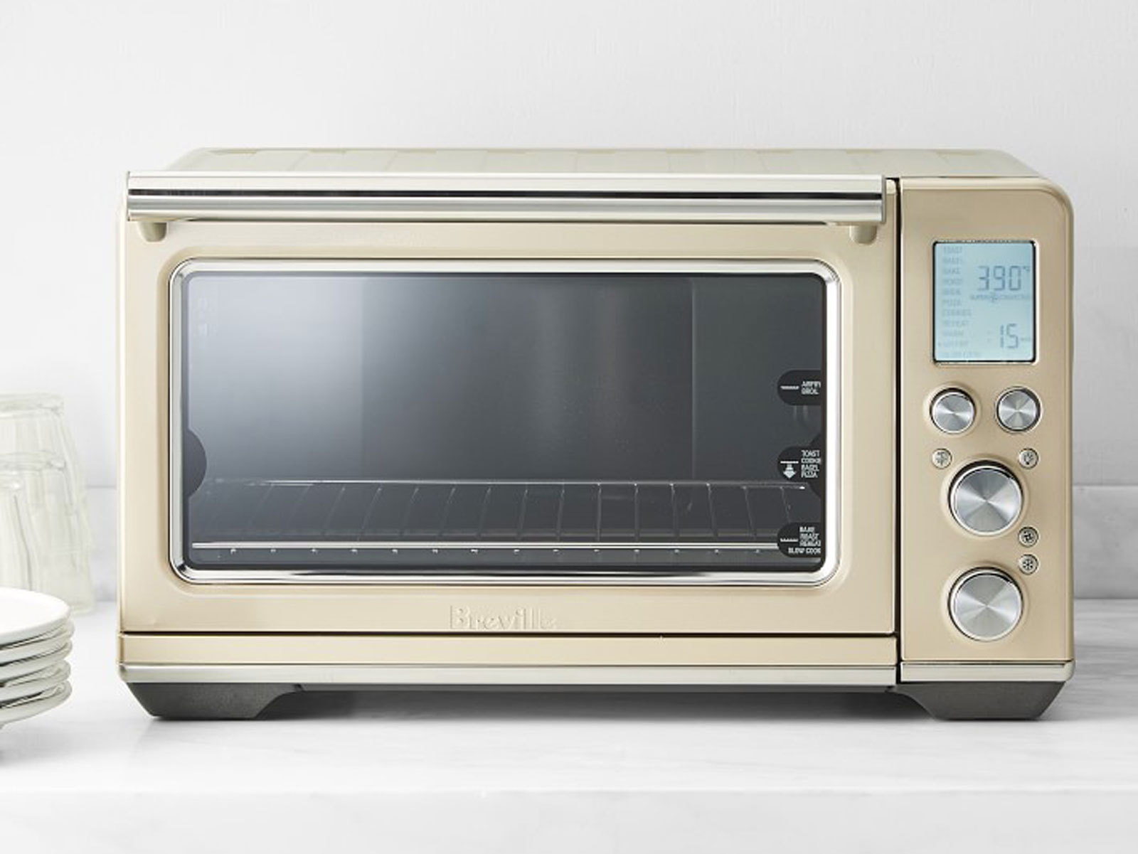 breville smart oven in champagne