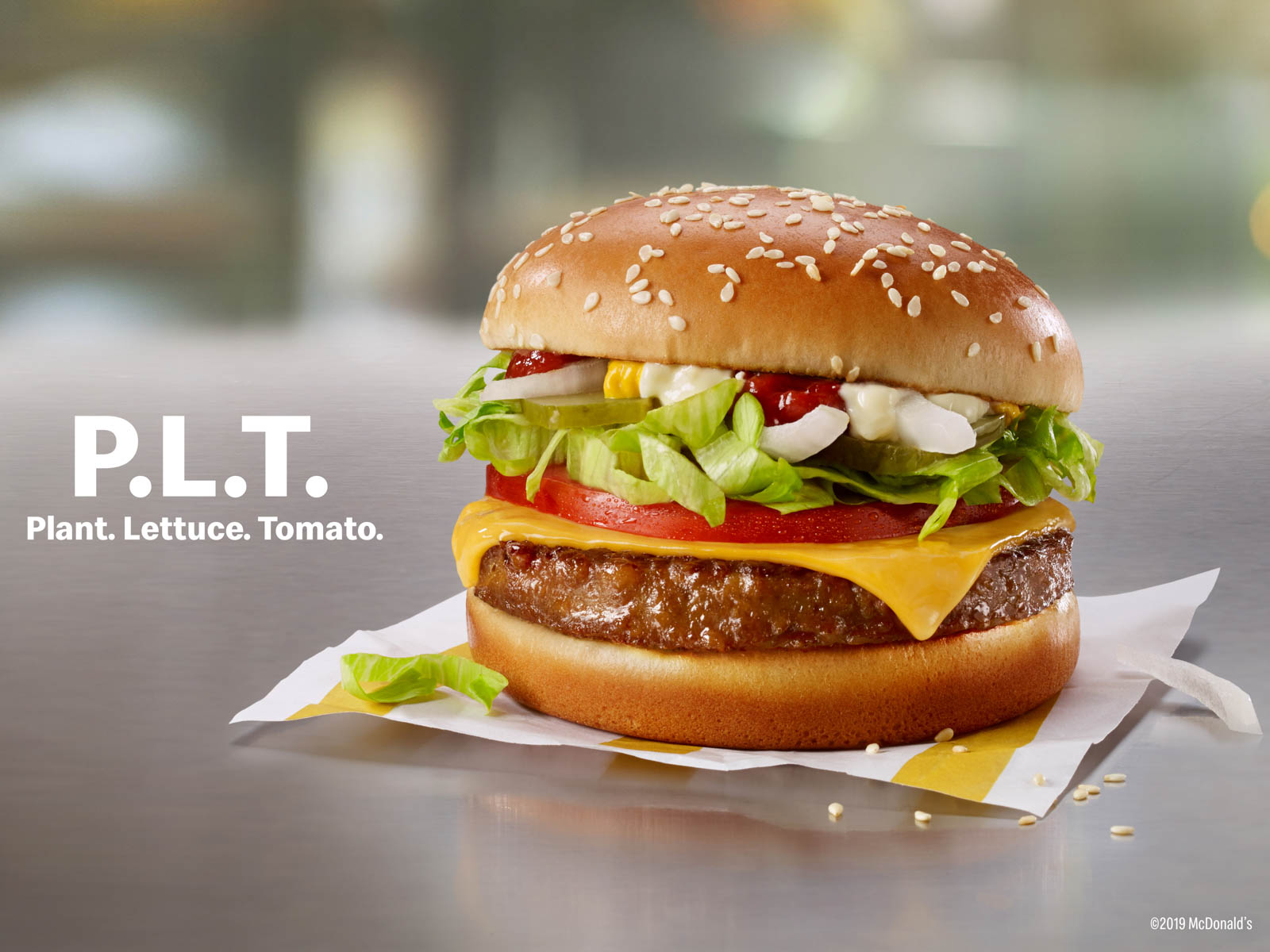 McDonald's Plant Based Burger
