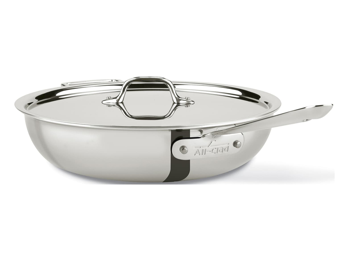 4-Quart Stainless Steel Weeknight Pan