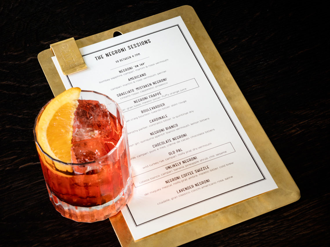 Dante New York World's Best Bar Negroni