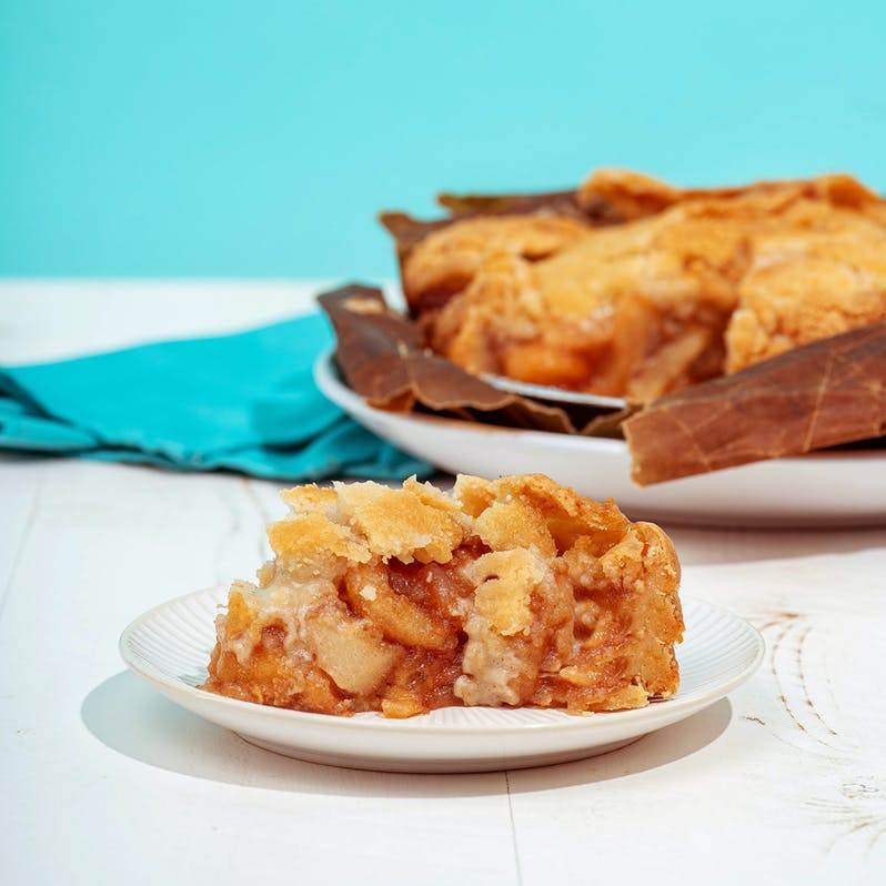 Brown Bag Apple Pie; The Elegant Farmer