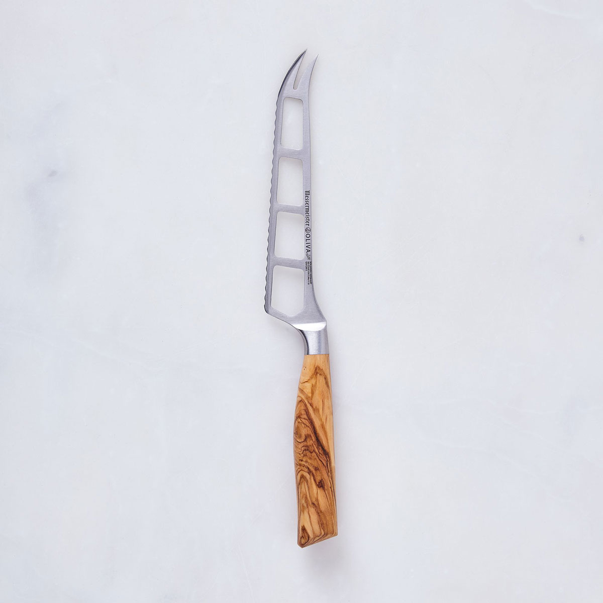 olive wood serrated knife