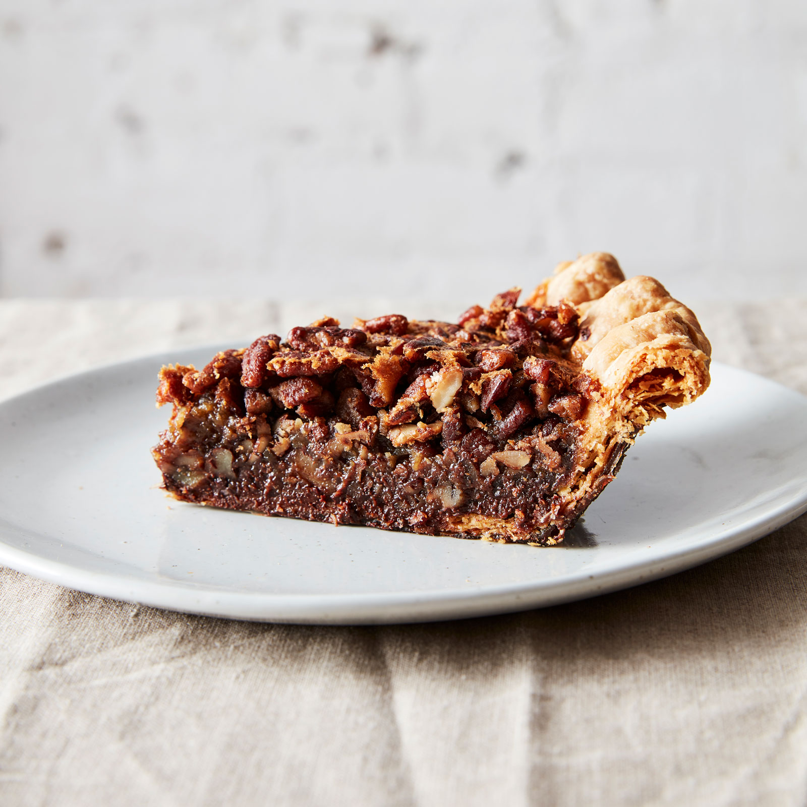Black Bottom Pecan Pie and Caramel Pumpkin Pie; Ovenly