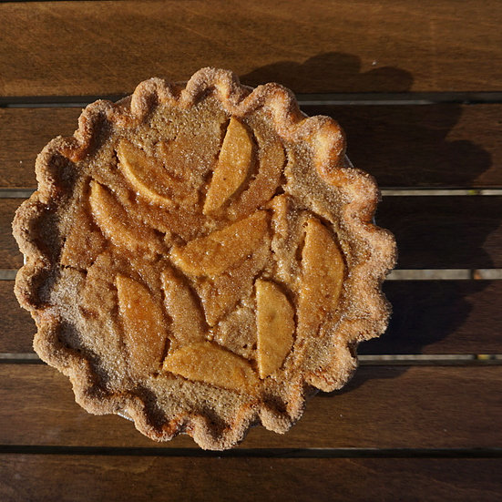 Apple Butter Custard Pie; Sister Pie