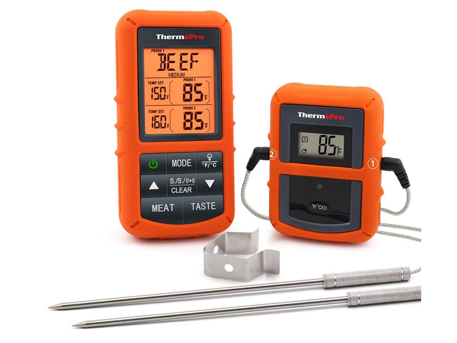 dial probe meat thermometer