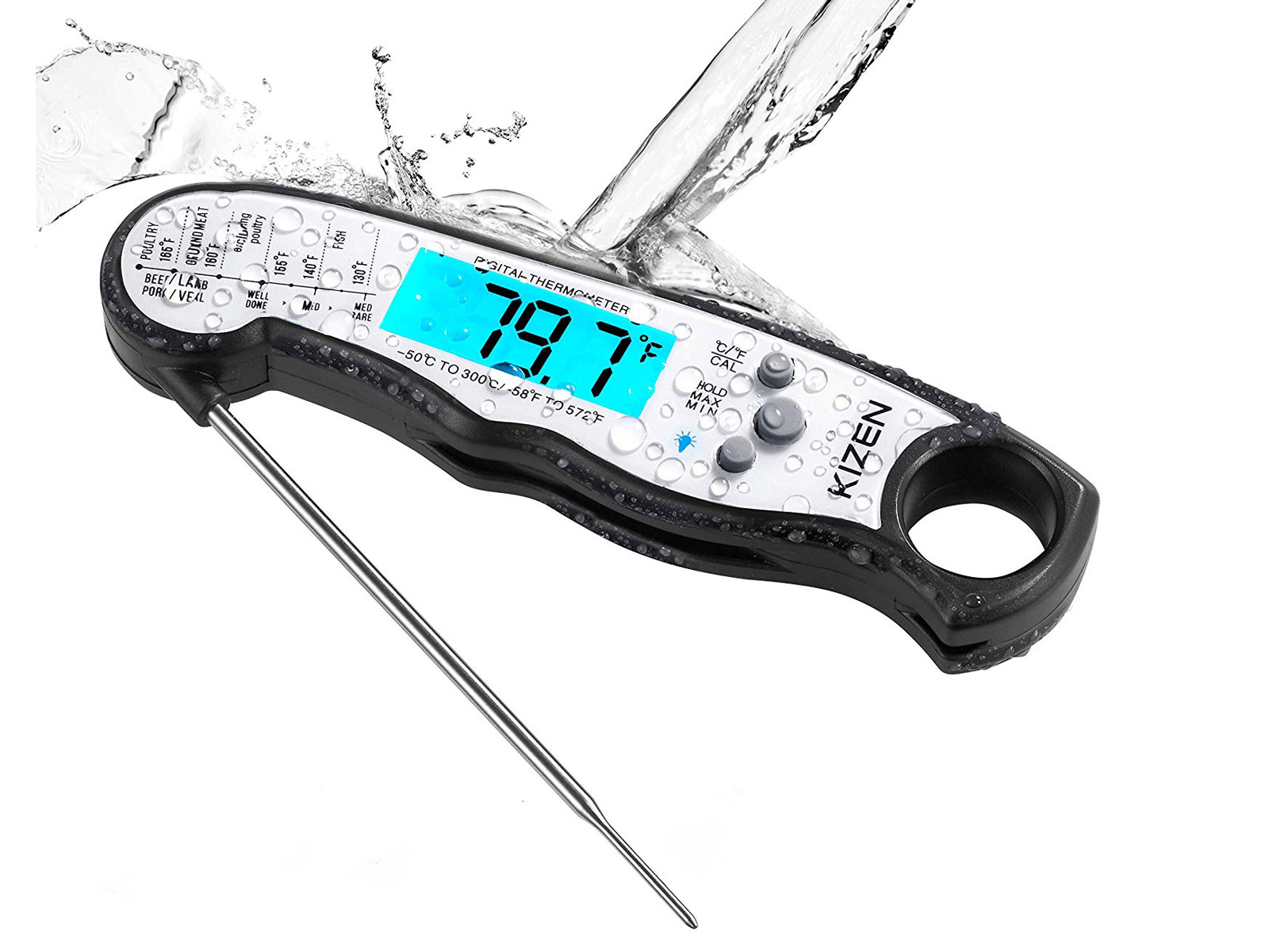 waterproof meat thermometer