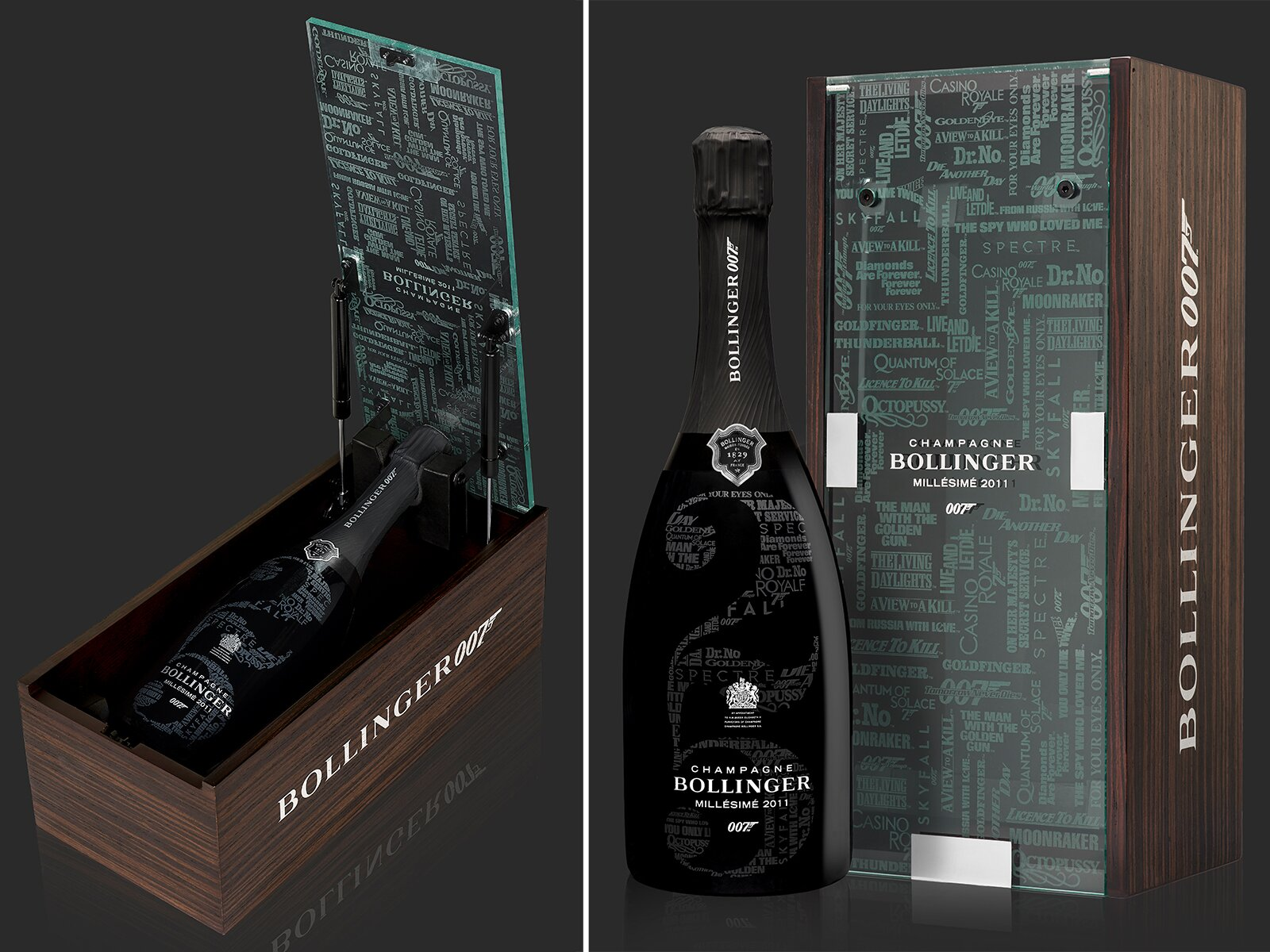 Bollinger Will Release a 'James Bond'-Themed Champagne This Fall | Food &  Wine