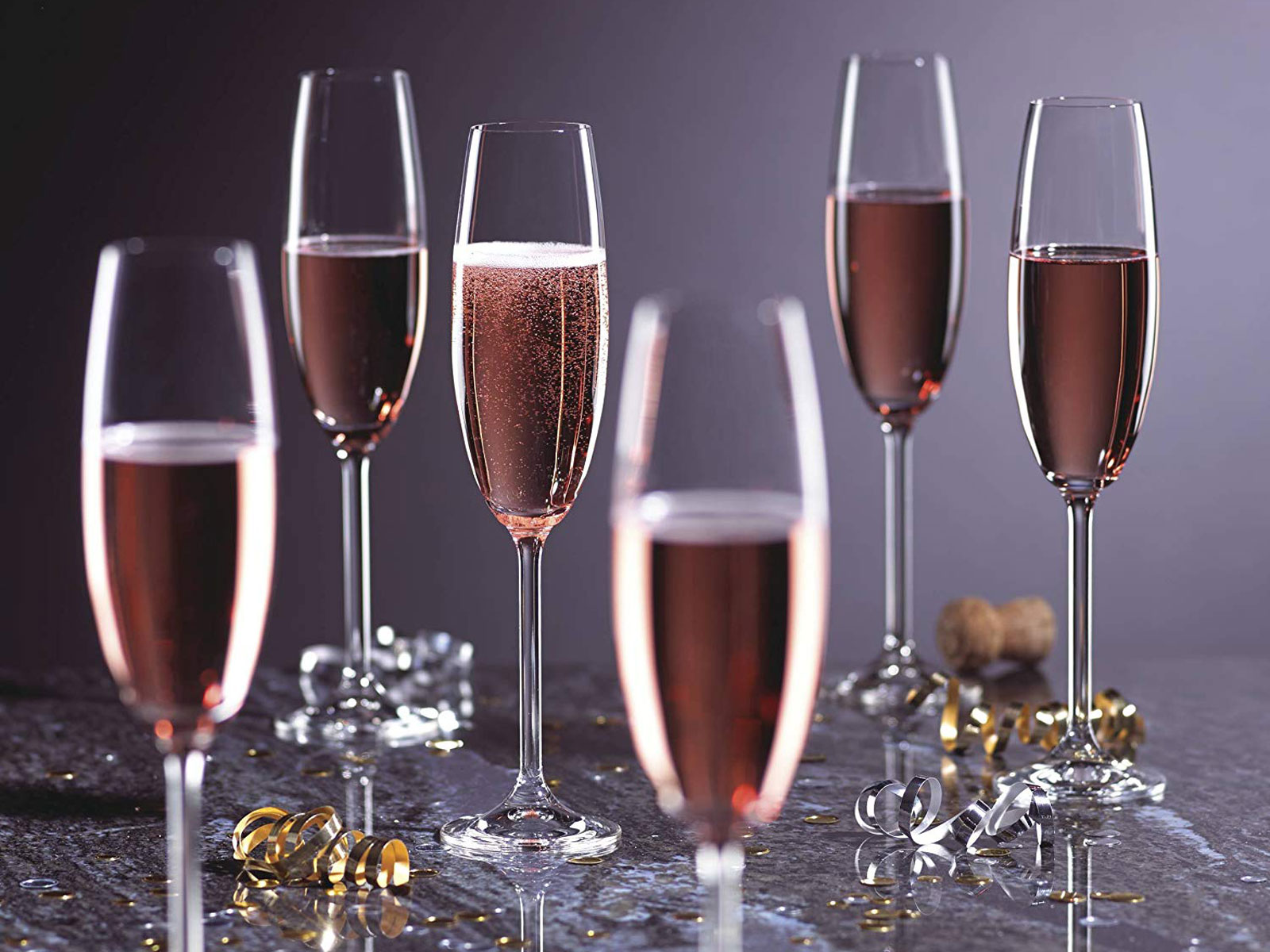 champagne flutes from lenox