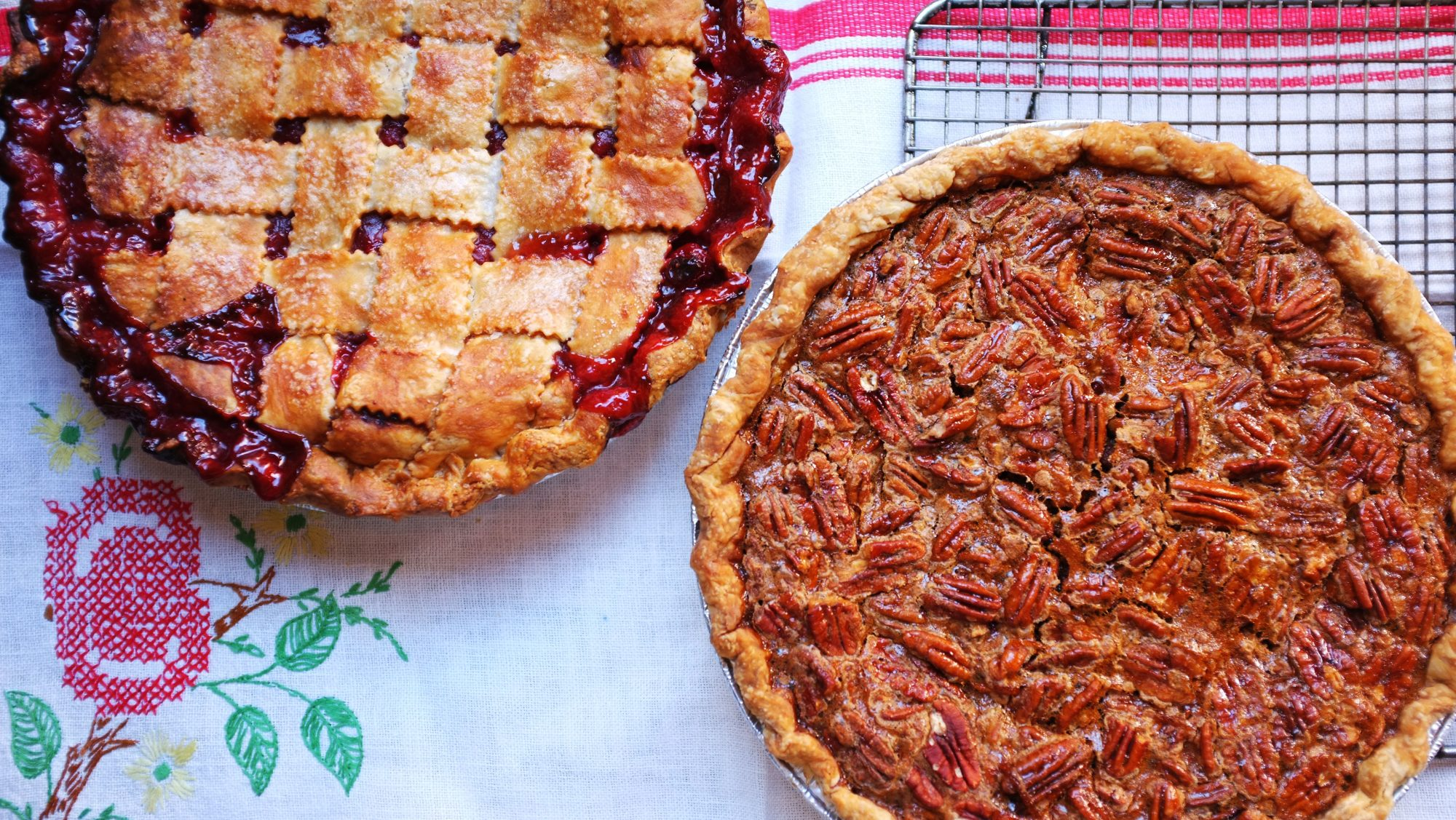 Sour Cherry and Pecan Pie: Bubby's