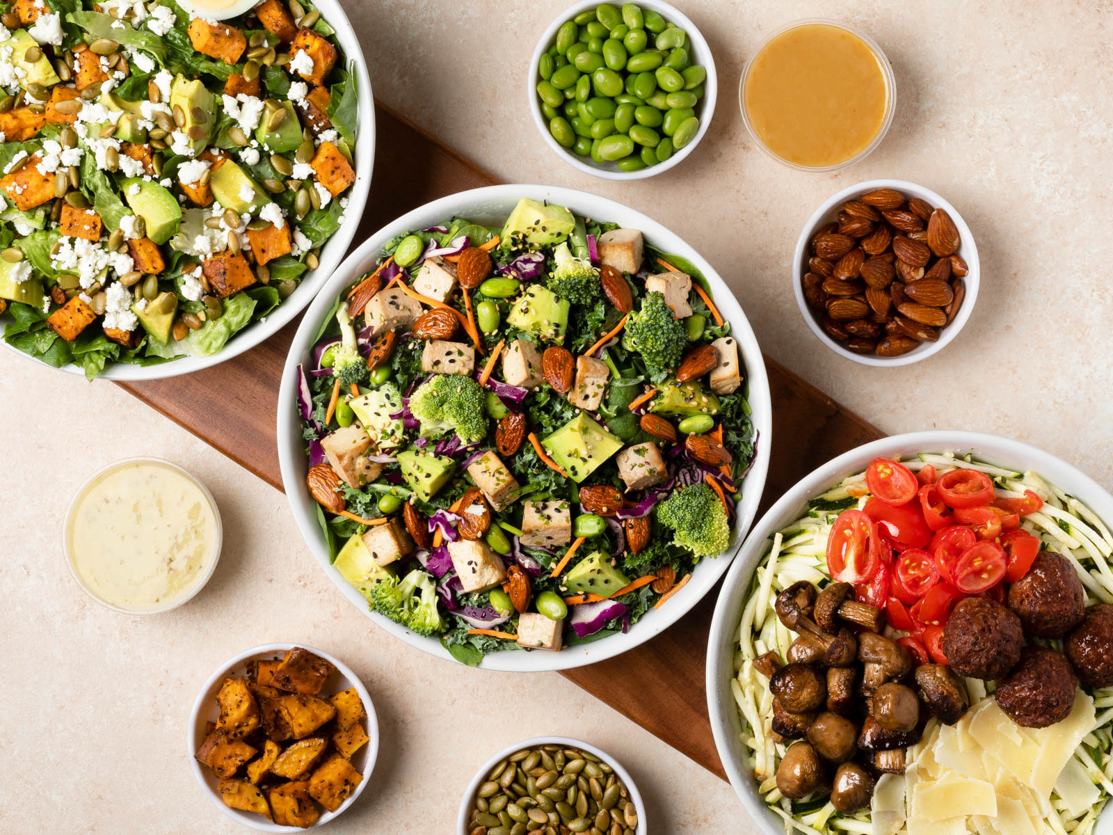 Health Tribes: Just Salad x GrubHub