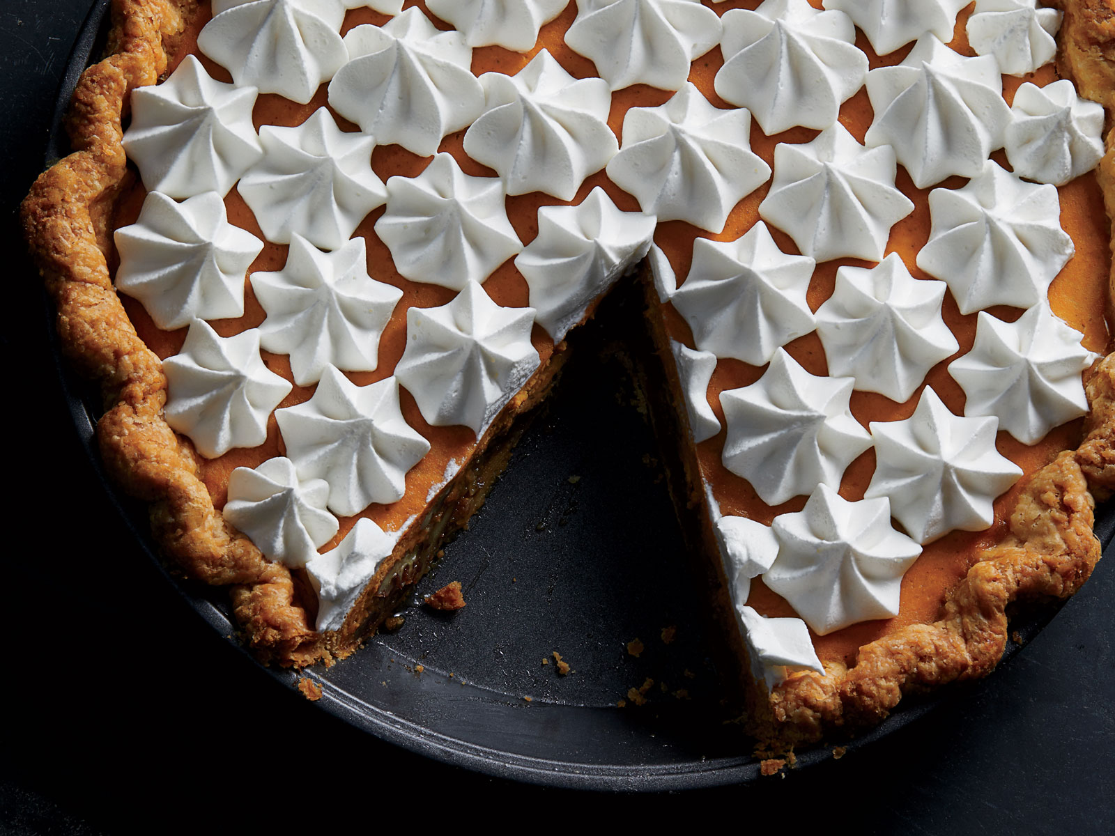 Pecan-Pumpkin Cream Pie