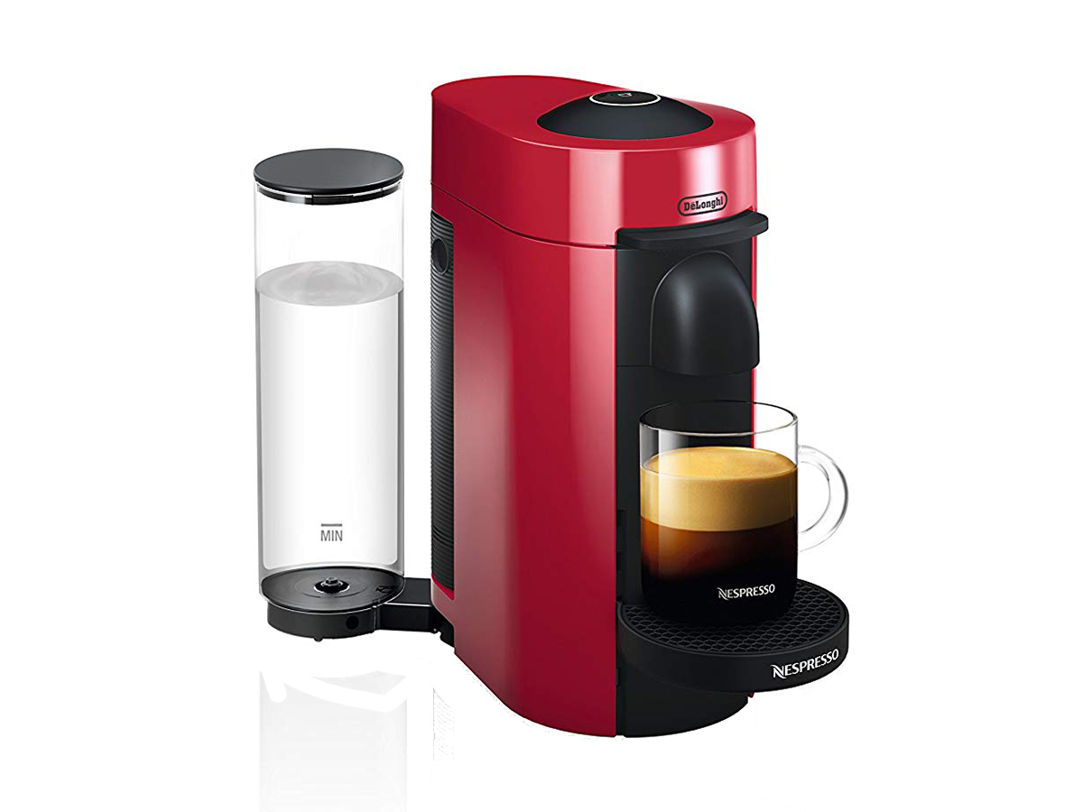 Nespresso ENV150R VertuoPlus Coffee and Espresso Machine