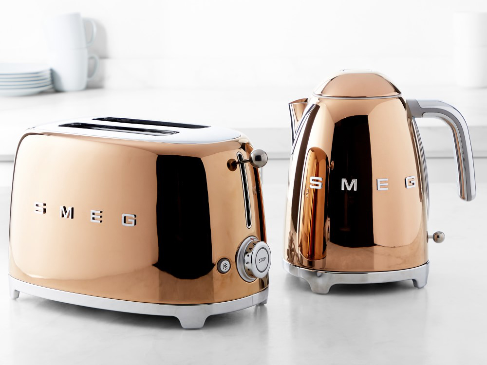 SMEG Rose Gold Kitchen Appliances