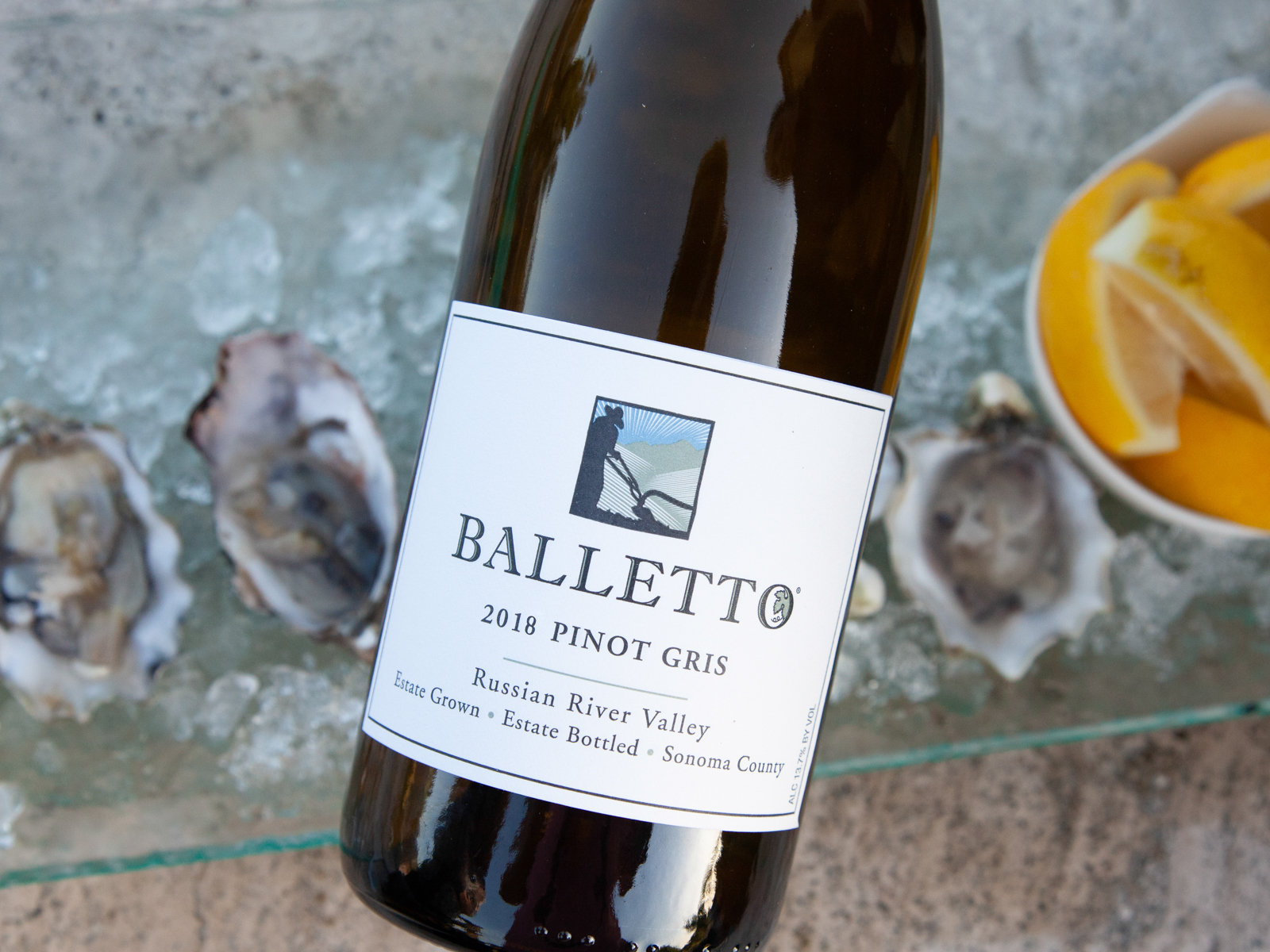2018 Balletto Pinot Gris Russian River Valley