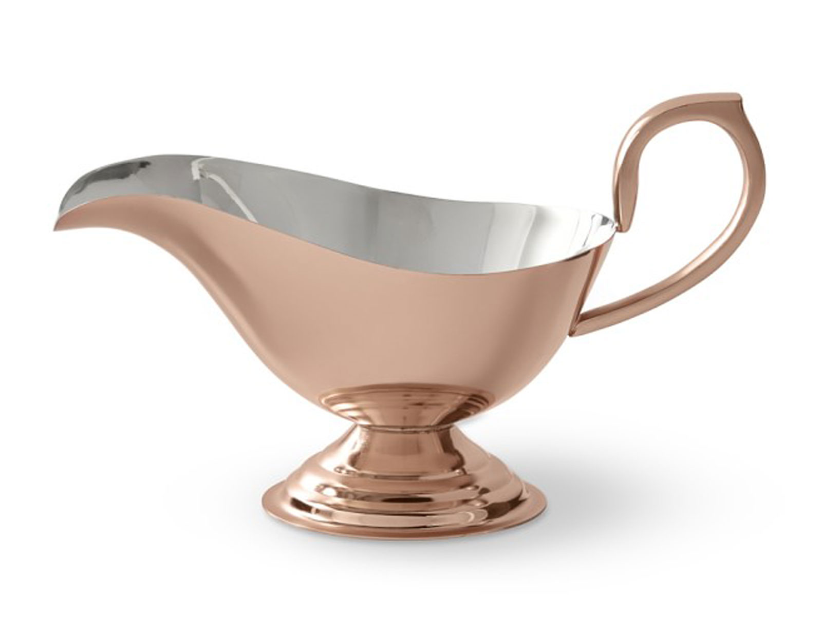 copper gravy boat