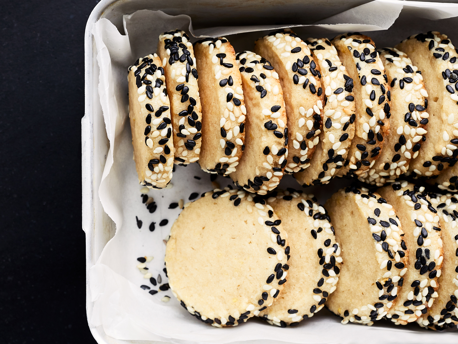 Lemon-Tahini Cookies Recipe
