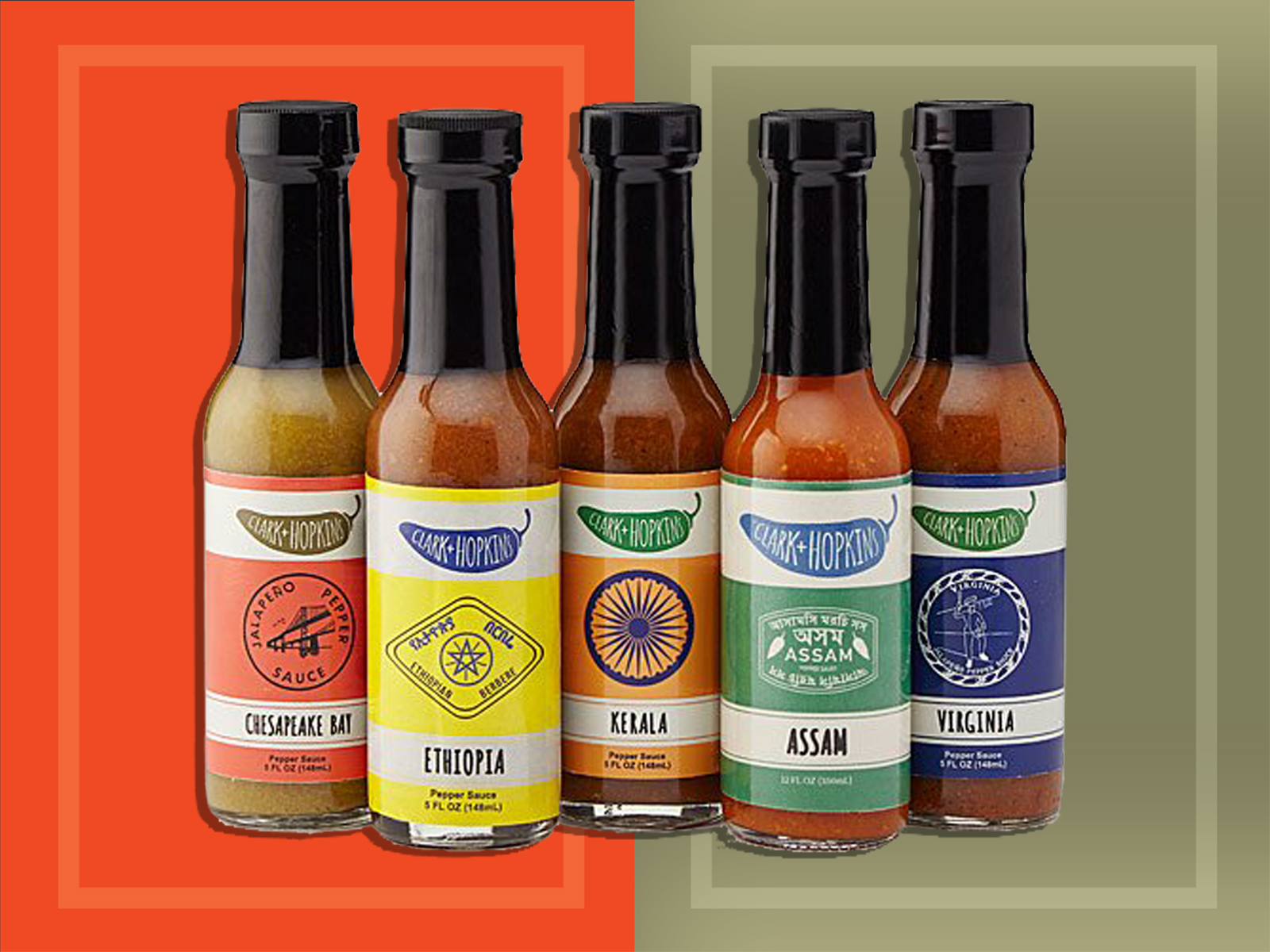 UncommonGoods Hot Sauce Gift