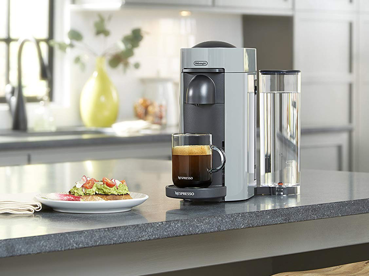 Nespresso by De'Longhi ENV150GY VertuoPlus Coffee and Espresso Machine