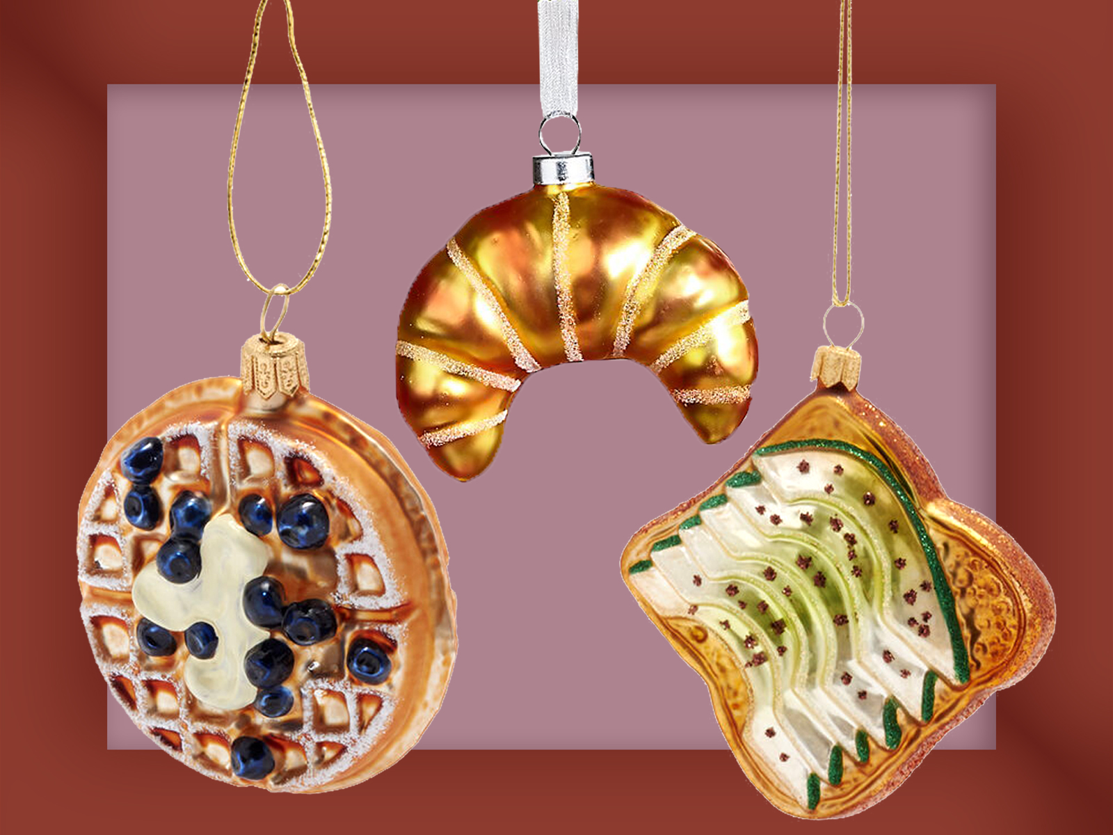 Breakfast Ornaments
