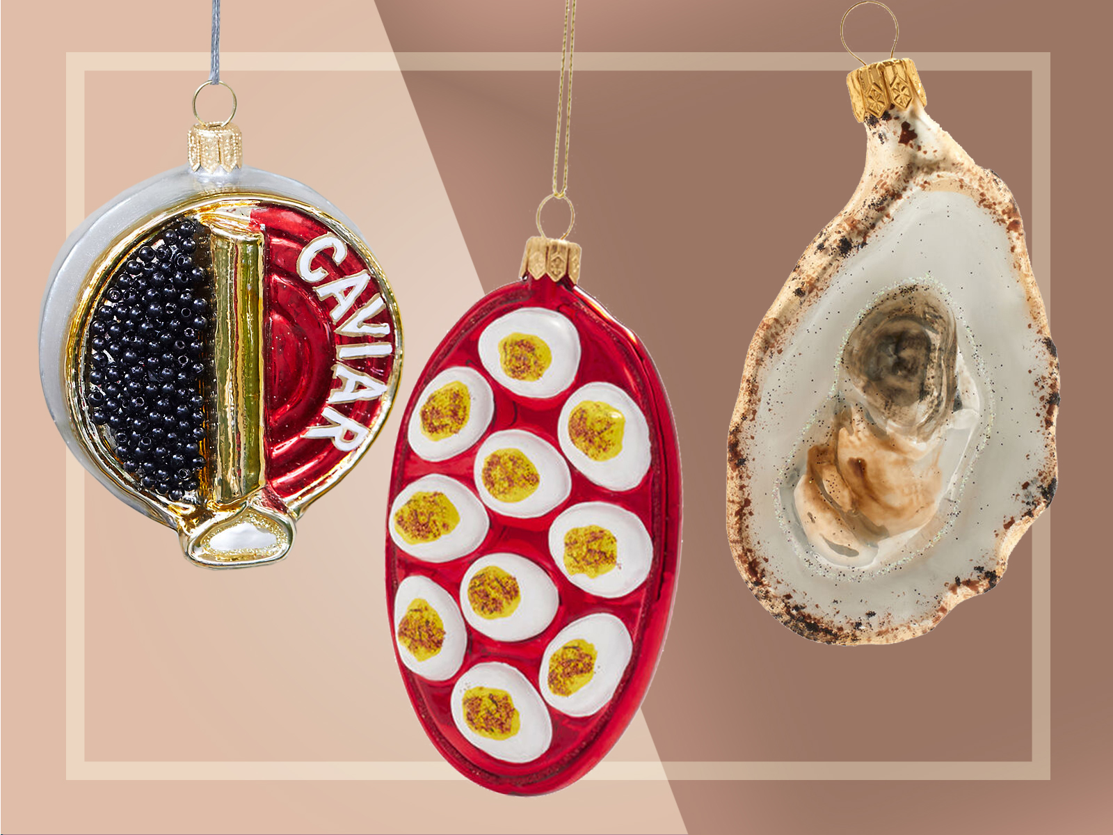 Food Ornaments Appetizers
