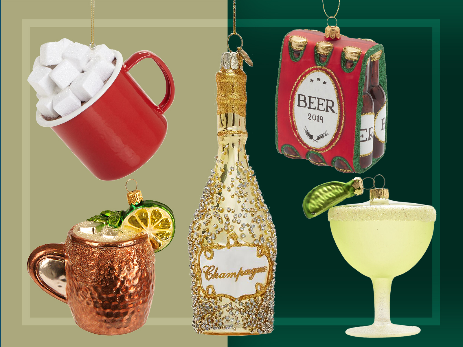 Drink Ornaments