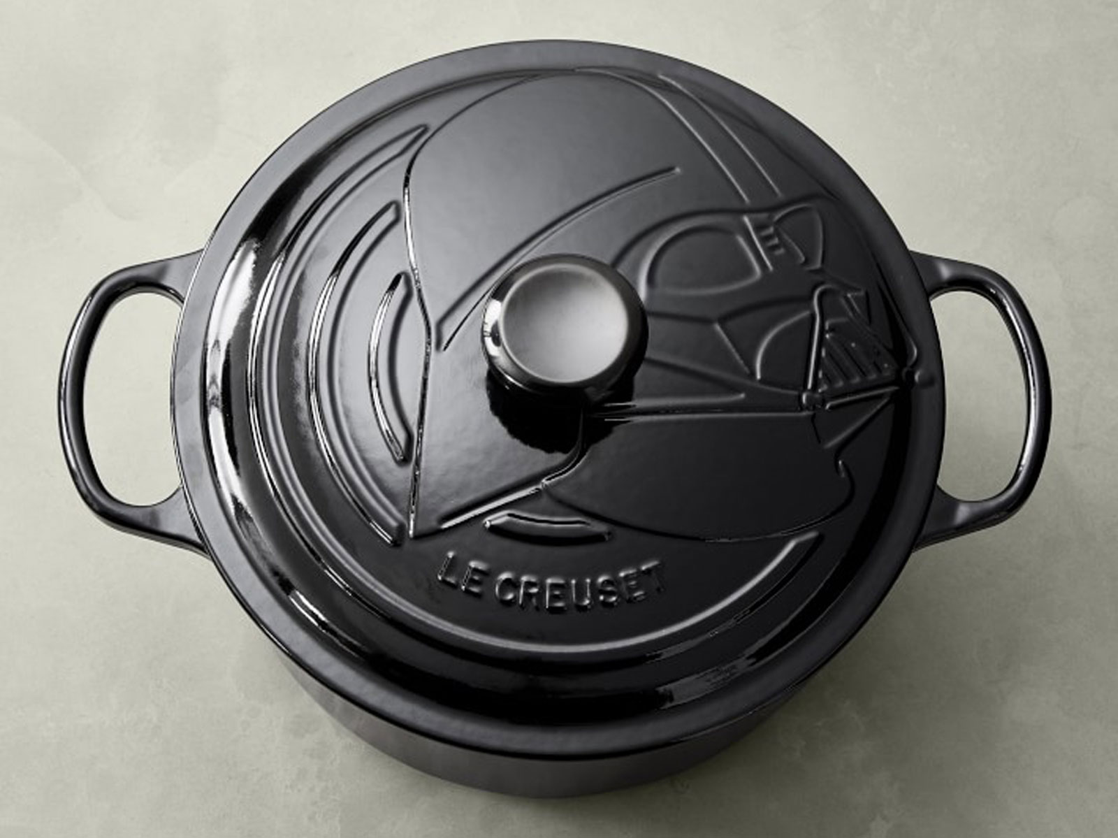 Le Creuset Star Wars Darth Vader Dutch Oven