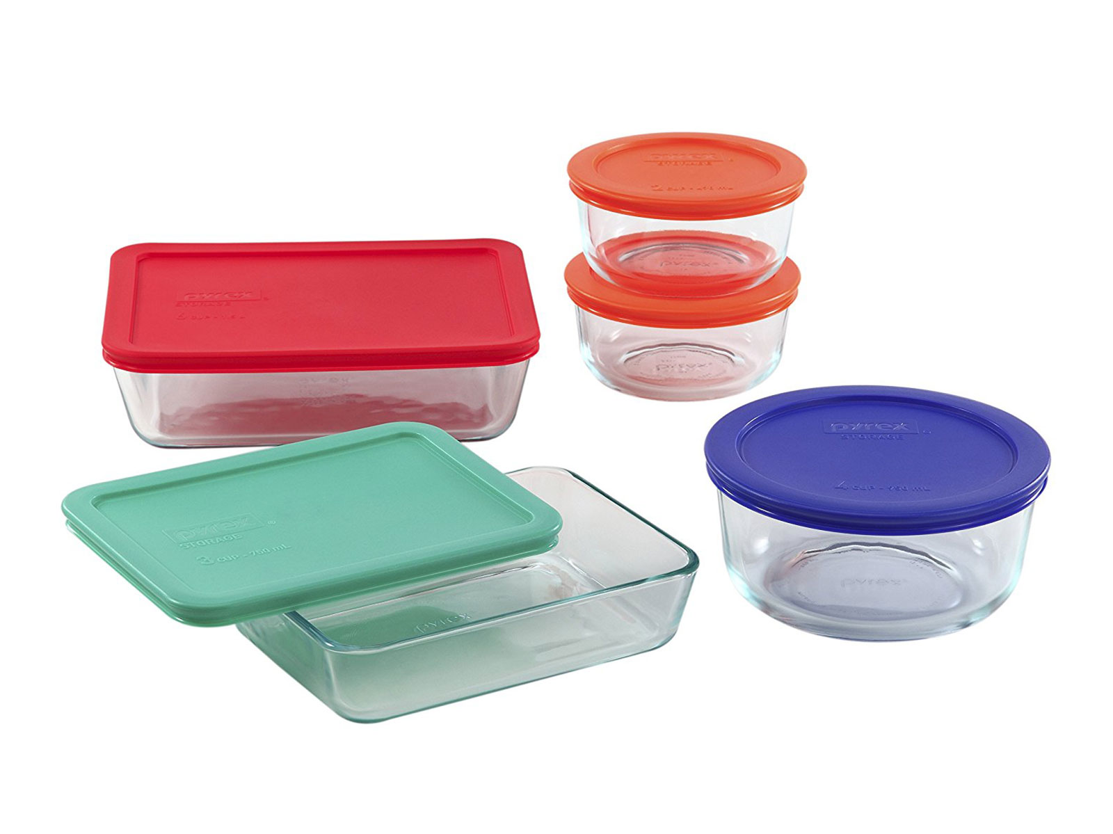 Pyrex 10 Piece Storage Set