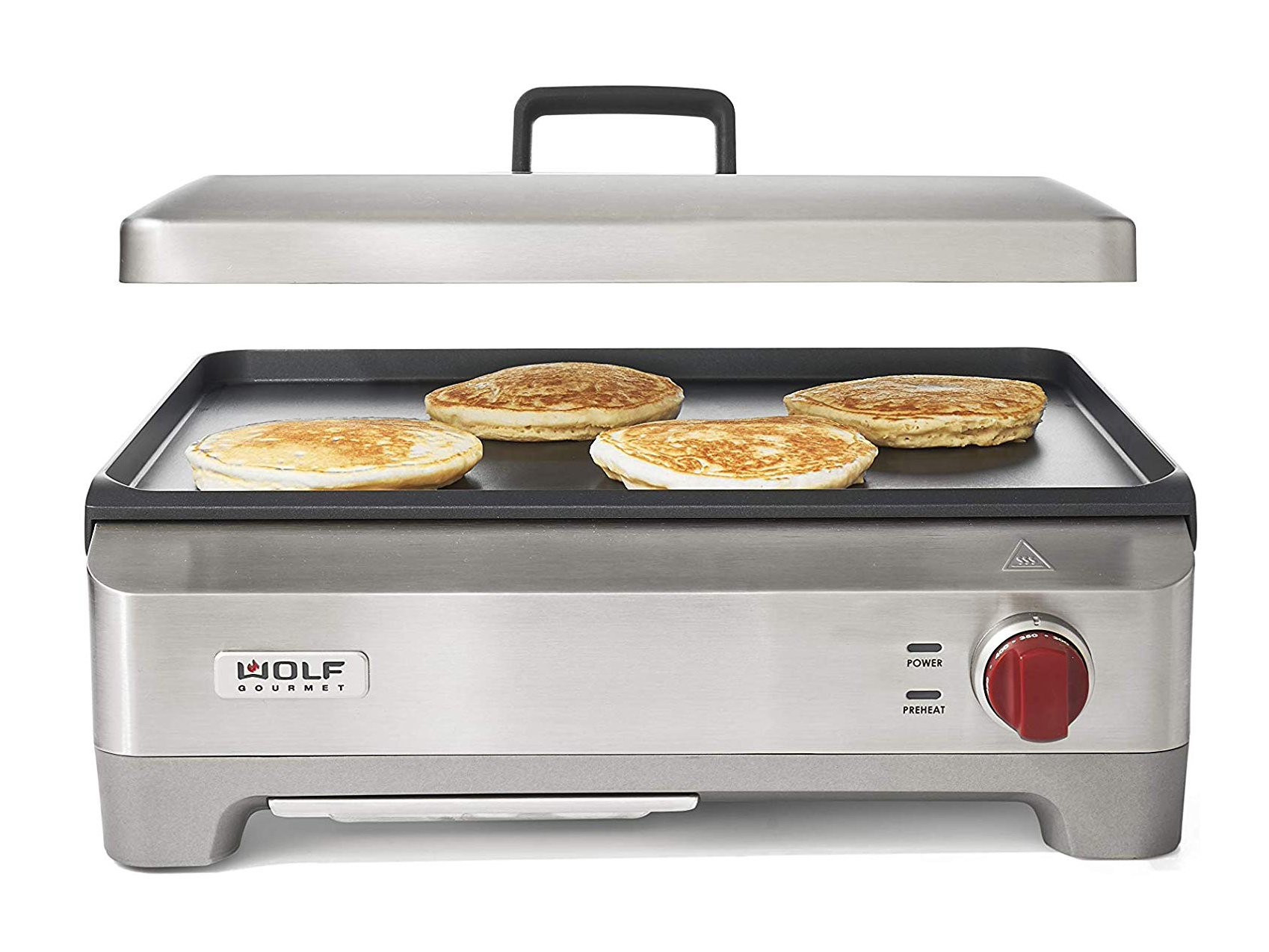 Wolf Gourmet WGGR100S Precision Electric Griddle