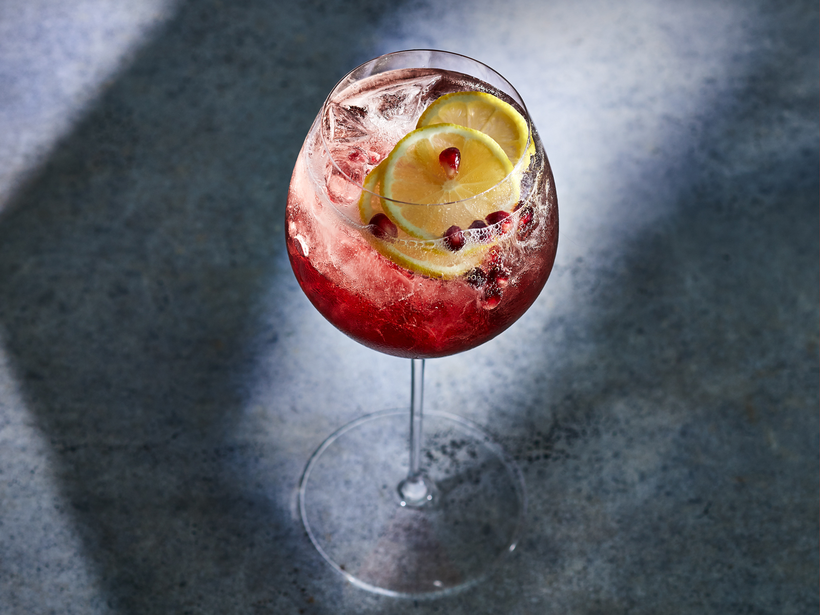 Pomegranate Ginger Spritz Recipe