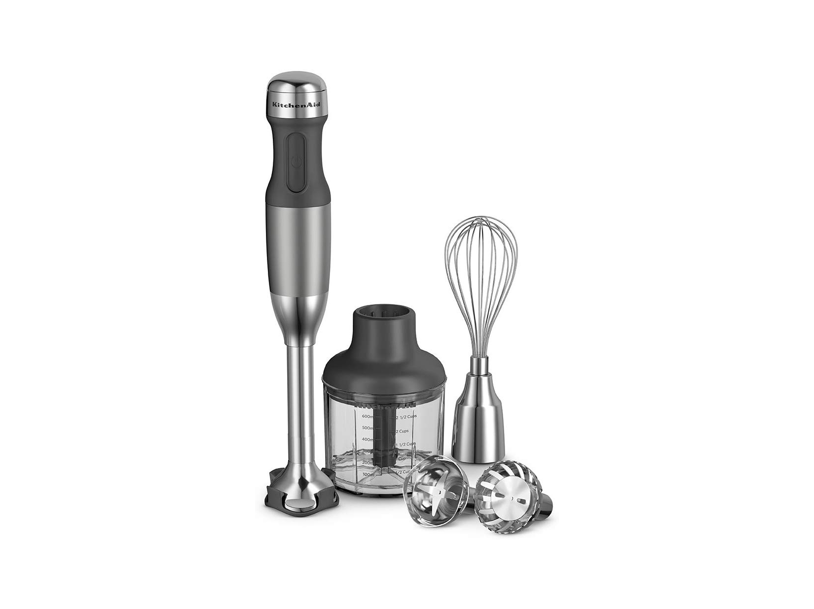 Amazon KitchenAid 5-Speed Hand Blender Contour Silver