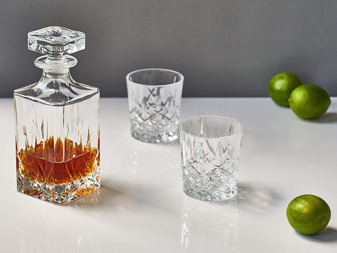 Amazon Marquis by Waterford Markham Double Old Fashioned Glasses Tout