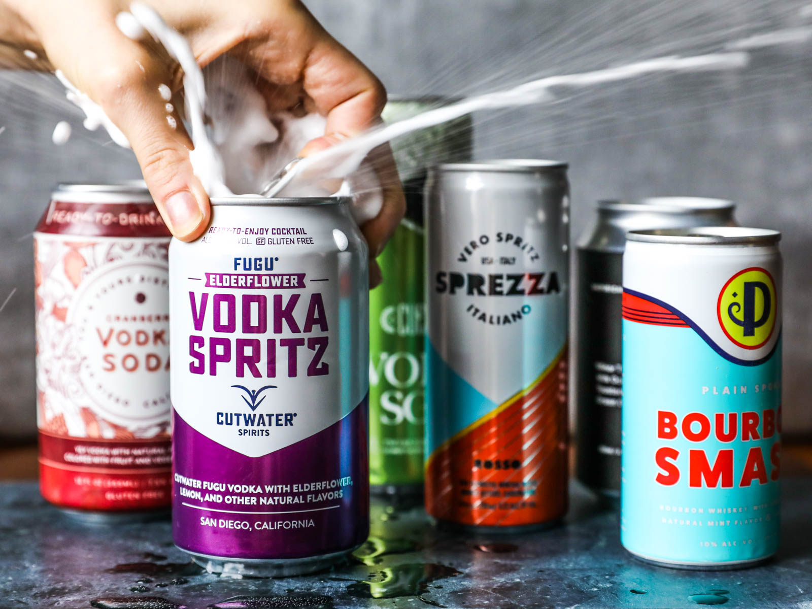 Canned Cocktail Taste Test
