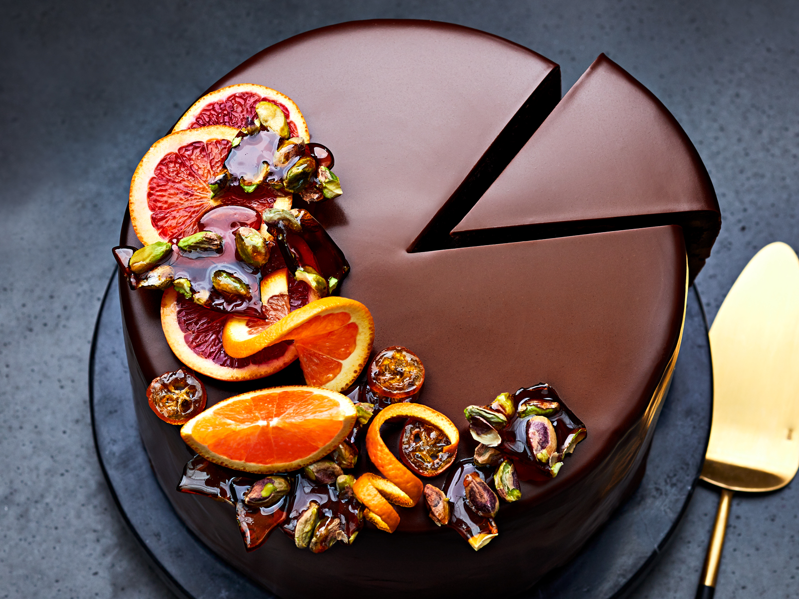Chocolate and Citrus Cassata