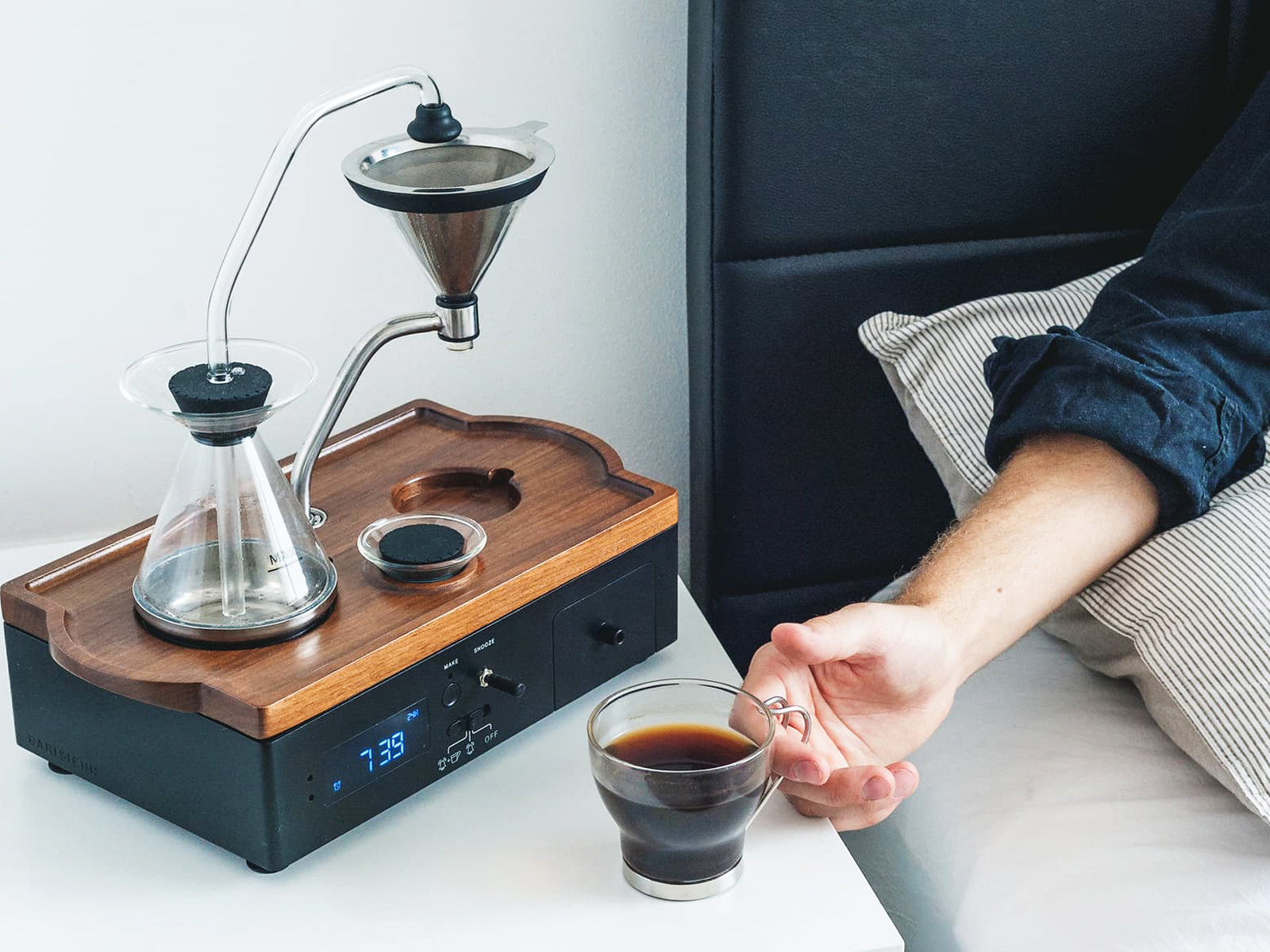 Coffee & Tea Alarm Clock