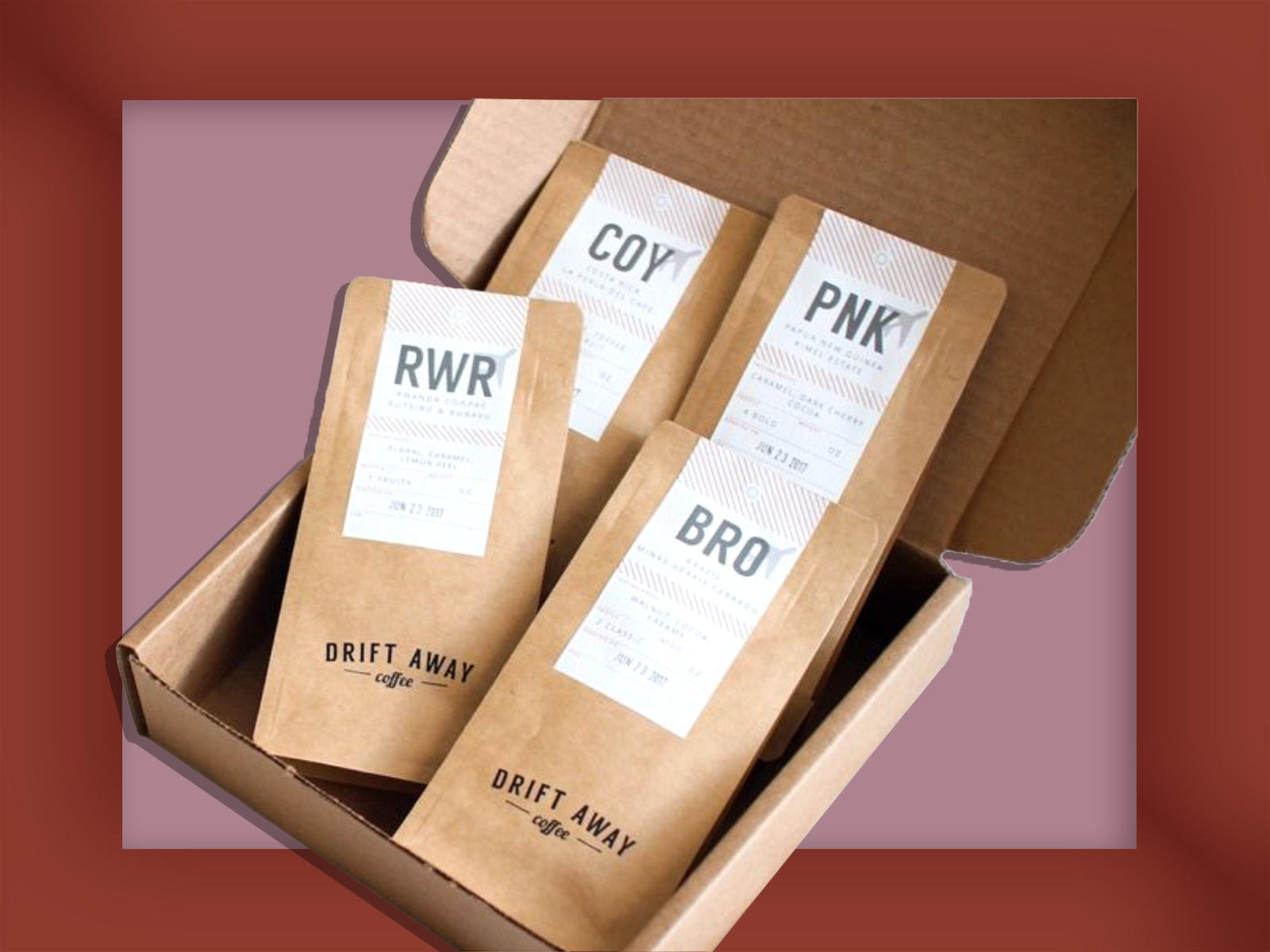 Coffee Gifts Driftaway Coffee Subscription