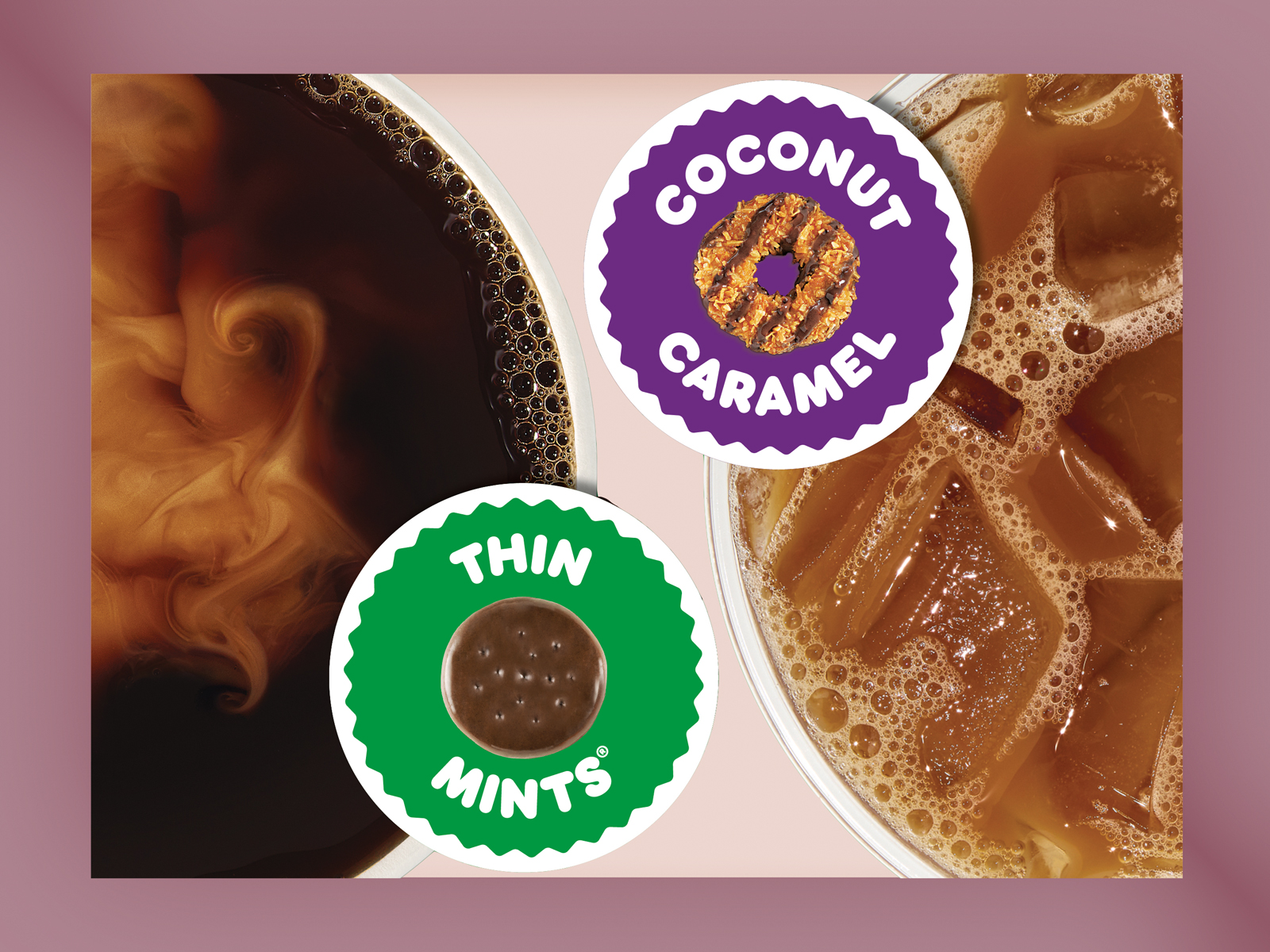 Dunkin' x Girl Scouts Coffee