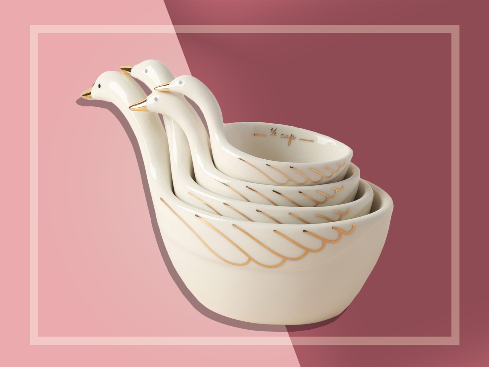 Gaggle of Geese Measuring Cups Anthropologie