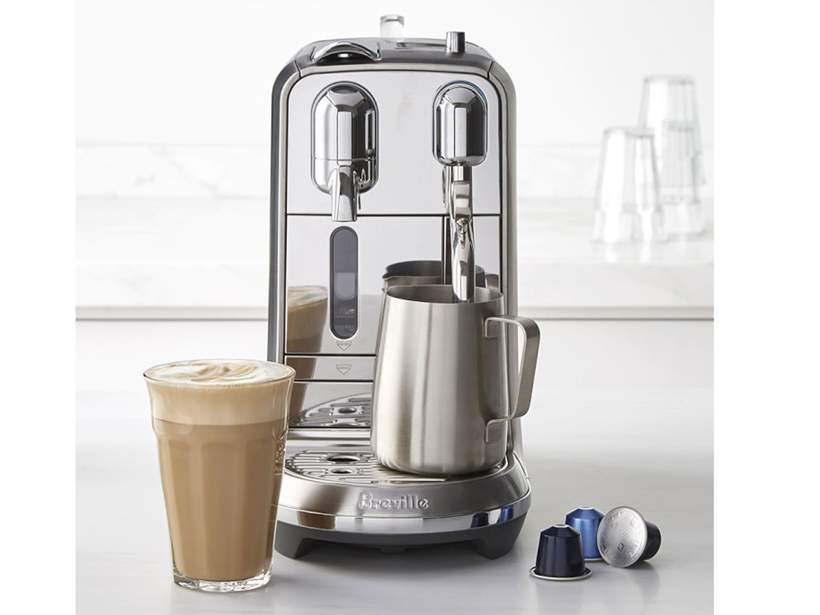 Nespresso Creatista Plus Espresso Machine by Breville
