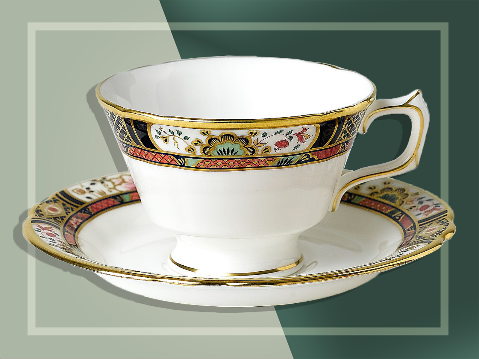 Royal Crown tea cup