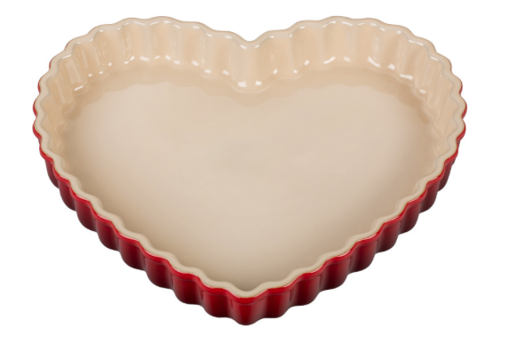 heart tart pan