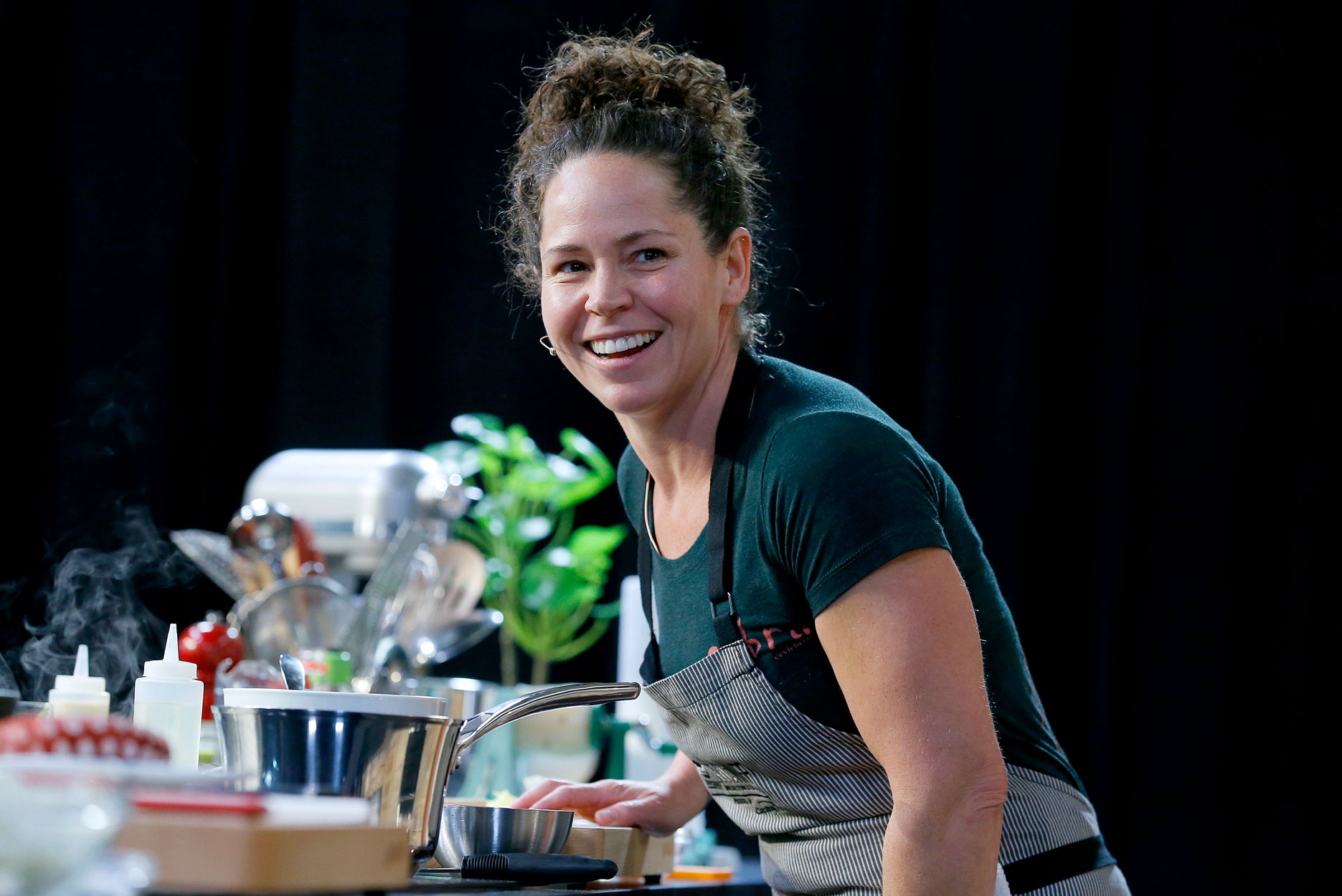 Stephanie Izard condiment game