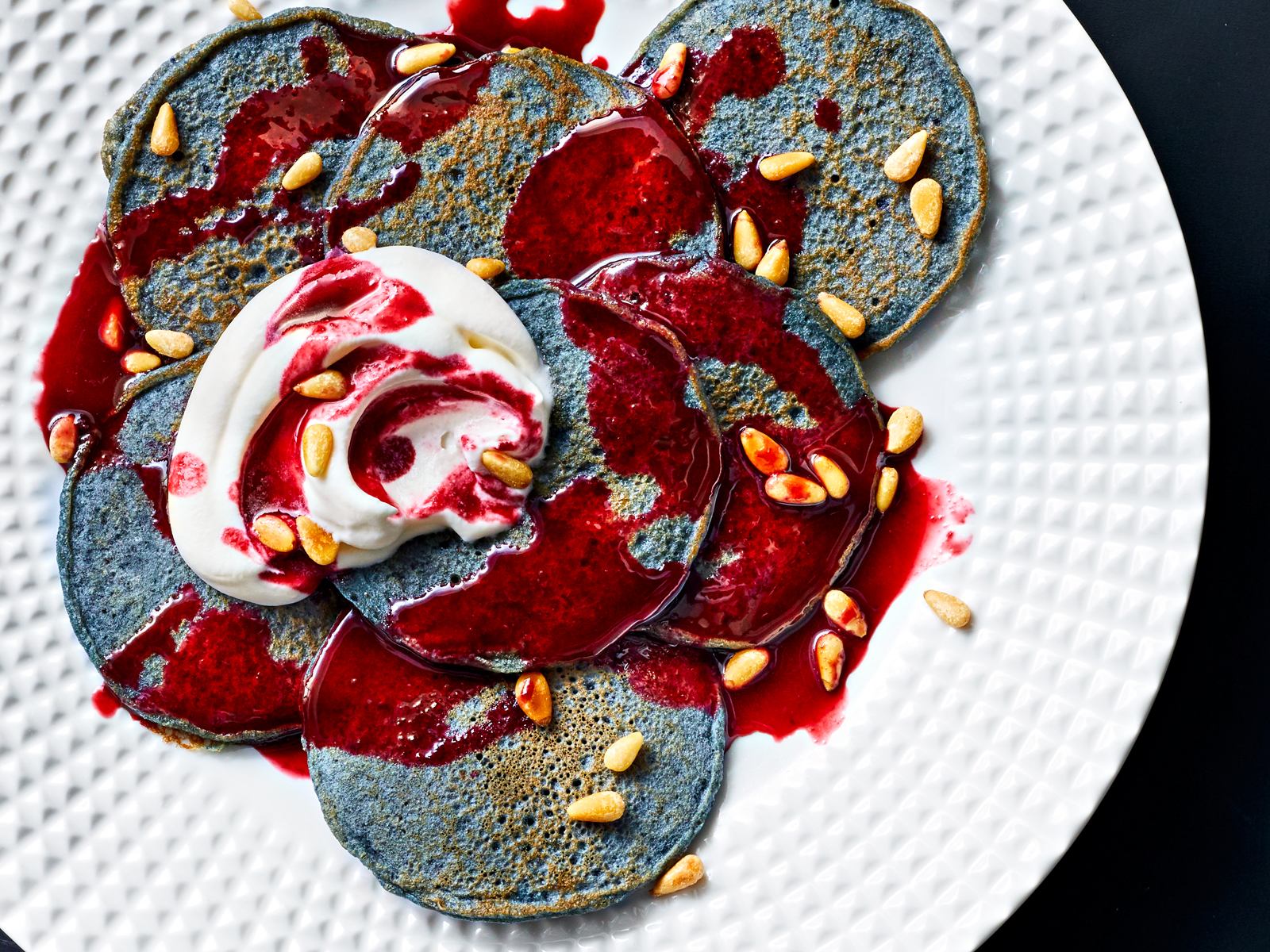 Blue Corn Piñon Pancakes Recipe