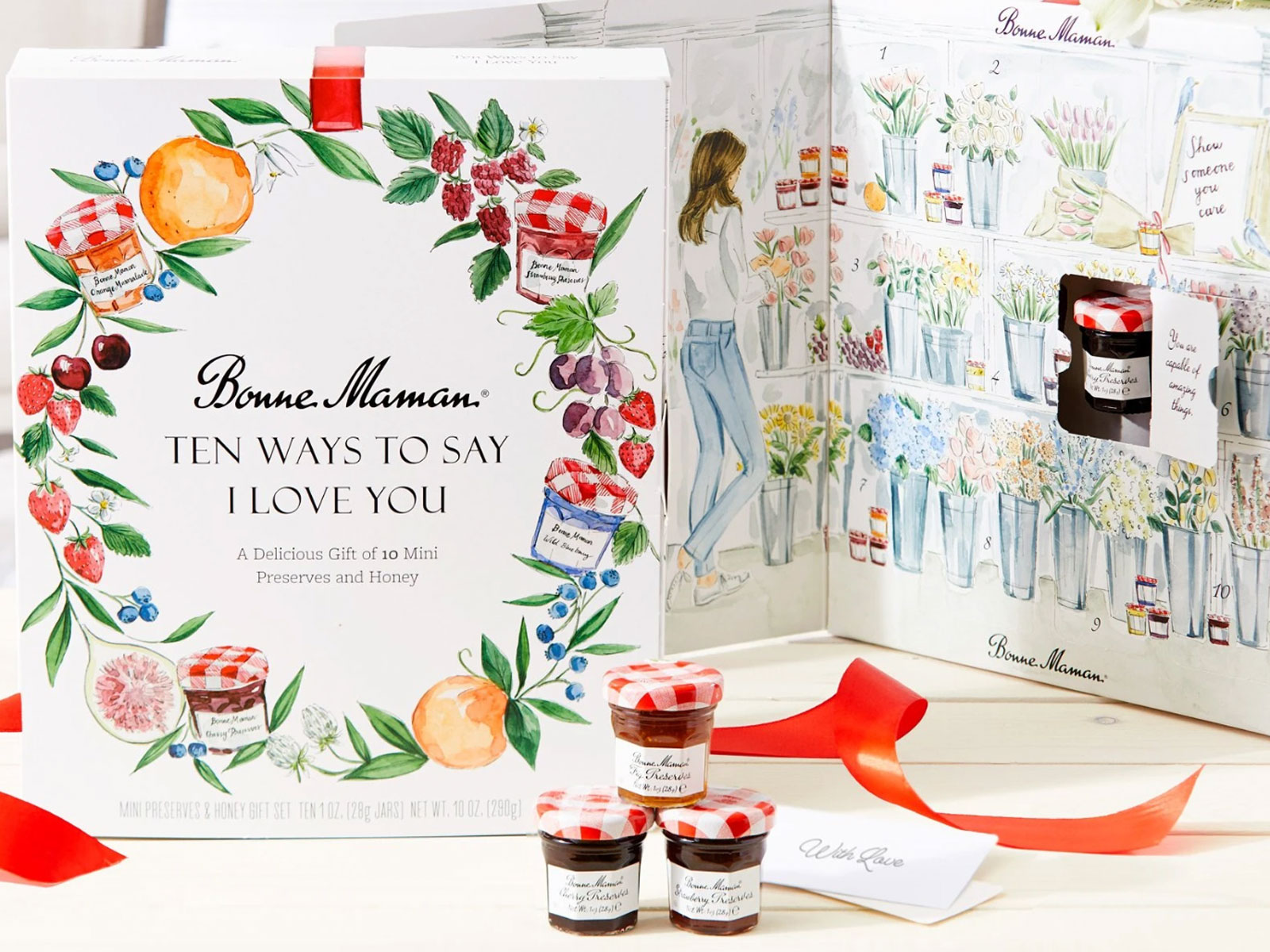 Bonne Maman S Newest Mini Jam Gift Box Is Perfect For Valentine S Day Food Wine