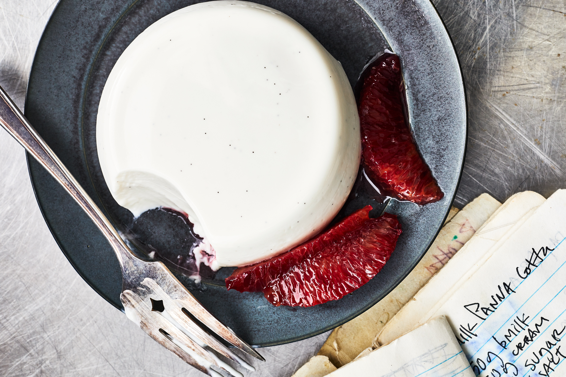 Buttermilk Panna Cotta Recipe