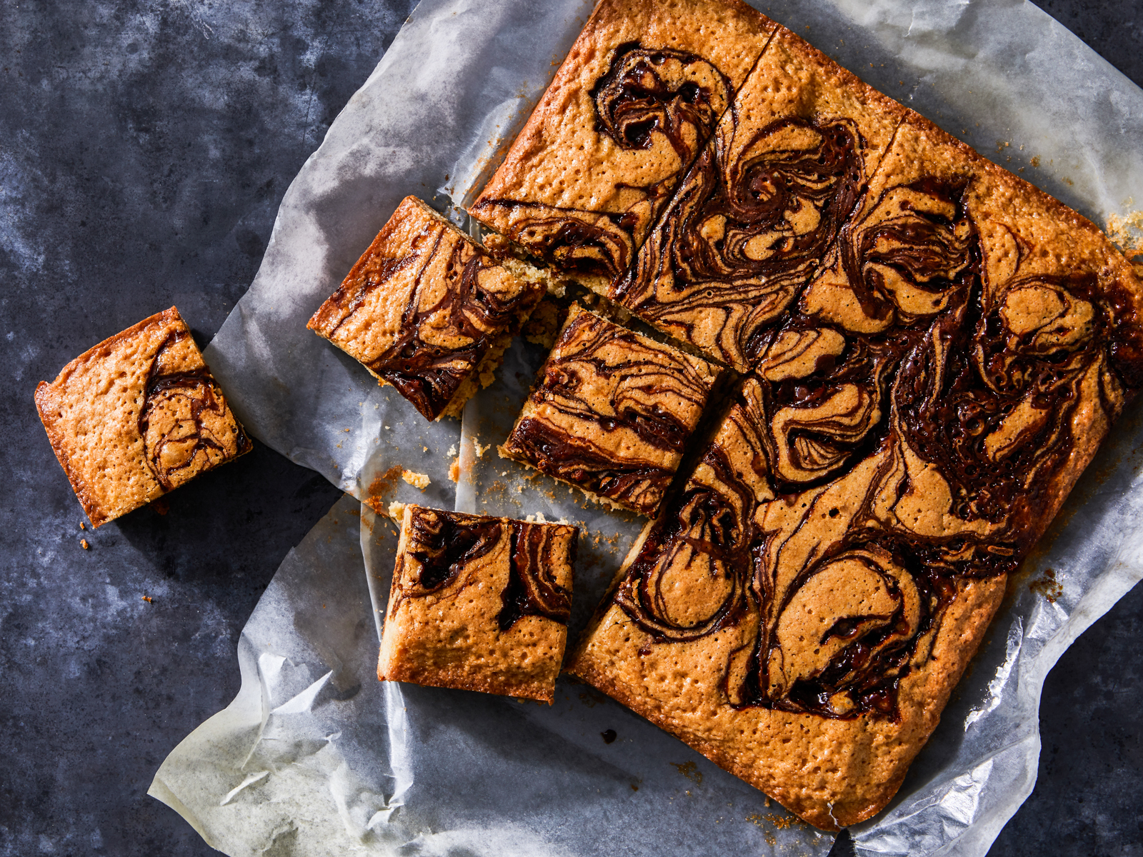 Cannabis-Infused Citrus Caramel Blondies Recipe