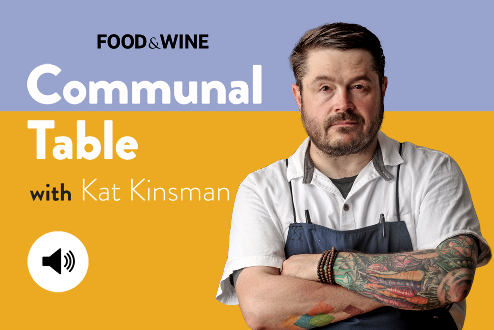 Communal Table with Kat Kinsman featuring Sean Brock