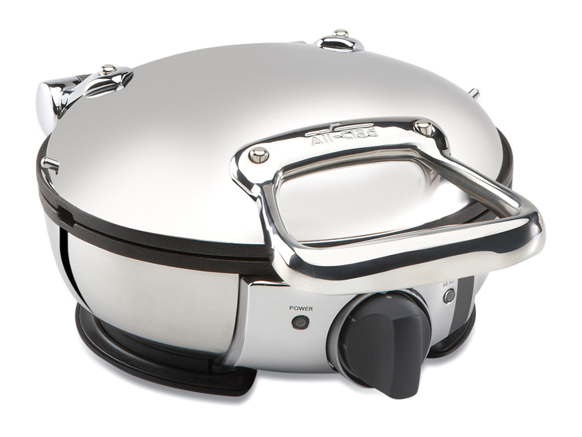 Gilt All-Clad Classic Round Waffle Maker